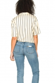 Les Favorites |  Striped blouse Hope | natural  | Picture 5