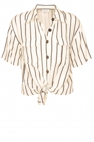 Les Favorites |  Striped blouse Hope | natural  | Picture 1