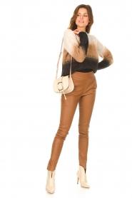 Liu Jo |  Knitted sweater Fenna | beige  | Picture 3