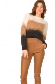 Liu Jo |  Knitted sweater Fenna | beige  | Picture 4