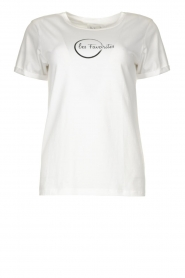 Les Favorites |  Cotton logo T-shirt Bobby | white  | Picture 1