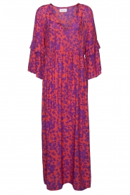 Les Favorites |  Maxi dress with floral print Bella | pink  | Picture 1