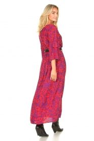 Les Favorites |  Maxi dress with floral print Bella | pink  | Picture 7