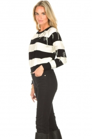 Liu Jo |  Sweater with chain details Maddy | black  | Picture 5