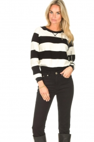 Liu Jo |  Sweater with chain details Maddy | black  | Picture 4