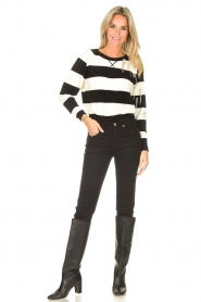 Liu Jo |  Sweater with chain details Maddy | black  | Picture 3