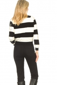 Liu Jo |  Sweater with chain details Maddy | black  | Picture 6