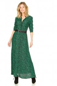 Les Favorites |  Floral maxi dress Mirjam | green  | Picture 2