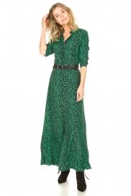 Les Favorites |  Floral maxi dress Mirjam | green  | Picture 4