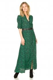 Les Favorites |  Floral maxi dress Mirjam | green  | Picture 3