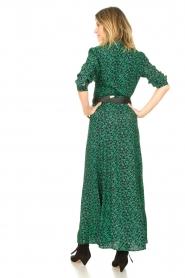 Les Favorites |  Floral maxi dress Mirjam | green  | Picture 5