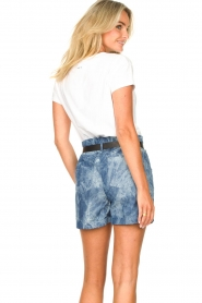 Les Favorites :  Paperbag shorts Kate | blue - img7