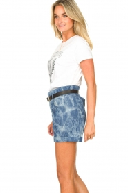 Les Favorites :  Paperbag shorts Kate | blue - img6