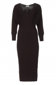 Liu Jo |  Midi dress Leya | black  | Picture 1