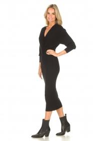 Liu Jo |  Midi dress Leya | black  | Picture 6