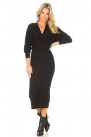 Liu Jo |  Midi dress Leya | black  | Picture 4