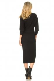 Liu Jo |  Midi dress Leya | black  | Picture 7