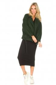 Liu Jo |  Midi dress Leya | black  | Picture 2