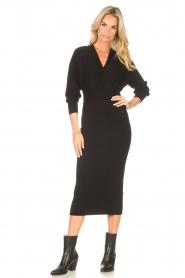 Liu Jo |  Midi dress Leya | black  | Picture 3