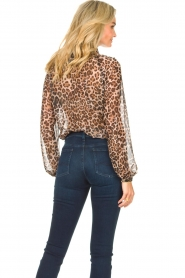 Liu Jo    See-through blouse with print Bea   black    Picture 6