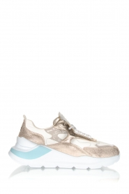 D.A.T.E | Sneakers Fuga | goud   | Afbeelding 1