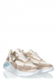 D.A.T.E | Sneakers Fuga | goud   | Afbeelding 3