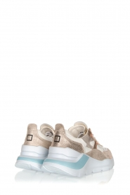 D.A.T.E | Sneakers Fuga | goud   | Afbeelding 4