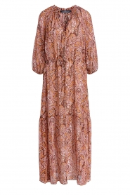 Set |  Paisley print maxi dress | Ida  | Picture 1