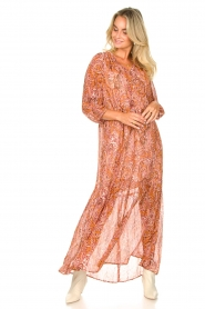Set |  Paisley print maxi dress | Ida  | Picture 5