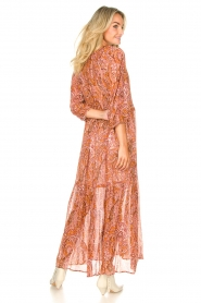 Set |  Paisley print maxi dress | Ida  | Picture 7