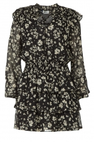 Liu Jo |  Dress with Print Cindy | black  | Picture 1