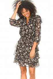 Liu Jo |  Dress with Print Cindy | black  | Picture 2