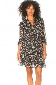 Liu Jo |  Dress with Print Cindy | black  | Picture 4