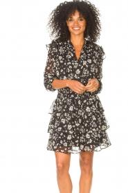 Liu Jo |  Dress with Print Cindy | black  | Picture 5