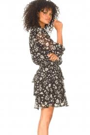 Liu Jo |  Dress with Print Cindy | black  | Picture 7