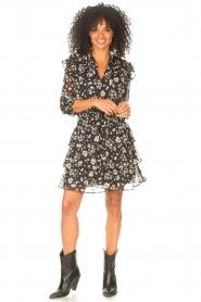 Liu Jo |  Dress with Print Cindy | black  | Picture 3