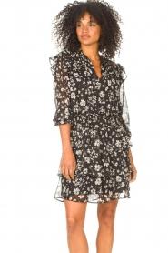 Liu Jo |  Dress with Print Cindy | black  | Picture 6