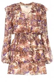 Liu Jo |  Dress with Print Cindy | purple  | Picture 1