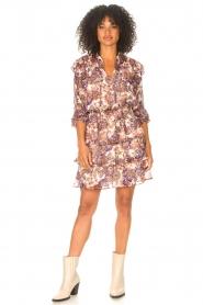 Liu Jo |  Dress with Print Cindy | purple  | Picture 3