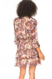 Liu Jo |  Dress with Print Cindy | purple  | Picture 7