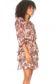 Liu Jo |  Dress with Print Cindy | purple  | Picture 6
