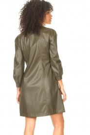 Liu Jo    Faux leather dress Lana   green    Picture 7