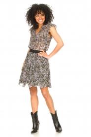 Set |  Floral skirt Rana | black  | Picture 3