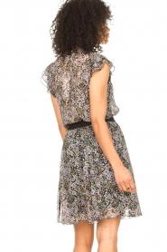Set |  Floral skirt Rana | black  | Picture 7