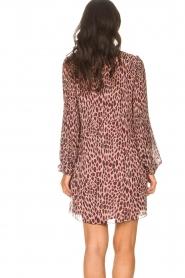Liu Jo    Dress with animal print Irene   pink    Picture 7