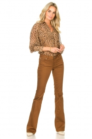 Liu Jo |  Flared pants Aleyna | brown  | Picture 3