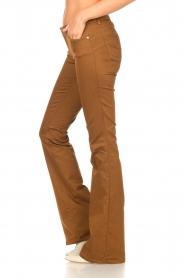 Liu Jo |  Flared pants Aleyna | brown  | Picture 5