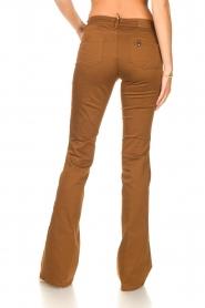 Liu Jo |  Flared pants Aleyna | brown  | Picture 6