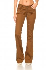 Liu Jo |  Flared pants Aleyna | brown  | Picture 4