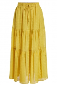 Set |  Maxi skirt with drawstring Isabella | yellow  | Picture 1